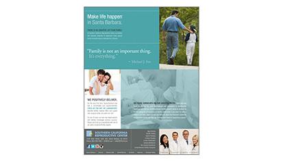 Fertility Clinic Newspaper Ad